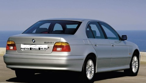 BMW 5 series E39 1995-2003 Ремонт Задней Пневмоподвески