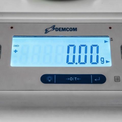 Лабораторные весы ДЭМКОМ DL-513 с гирей