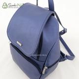 Сумка Саломея 502 металлик фиолетовый (рюкзак)