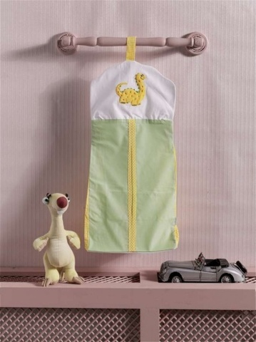 """Прикроватная сумка серии """"Baby Dinos"""", 100% хлопок, размер 30*65 (стандарт)"""