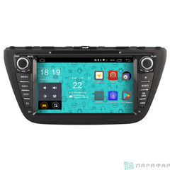Штатная магнитола 4G/LTE с DVD для Suzuki S-Cross 13-16 Android 7.1.1 Parafar PF985D