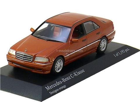 Mercedes C-Class 1997 orange-metallic Minichamps 1:43