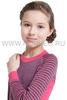 Терморубашка из шерсти мериноса Norveg Climate Control Pink детская