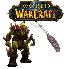 Брелок Word of Warcraft Logo