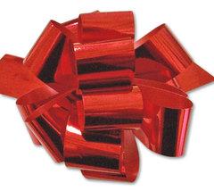 Бант-шар металлиз. (красный) 30х110 малый