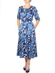 P4511-18z платье женское, синее