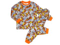 BK580K-10 пижама детская, серая