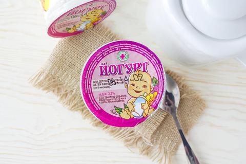 Йогурт детский