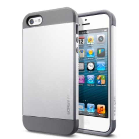 iPhone 5 Case Slim Armor чехол - цвет Satin Silver