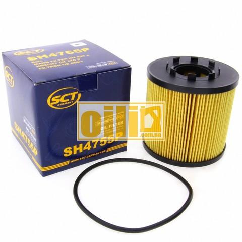 Фильтр масляный SCT SH4755P (Nissan, Opel, Renault)