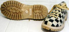 Туфли на шнуровке женские Goby TMK6506