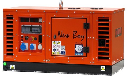 Генератор Europower EPS 103 DE/25 Серия NEW BOY купить по цене 569 990 р.