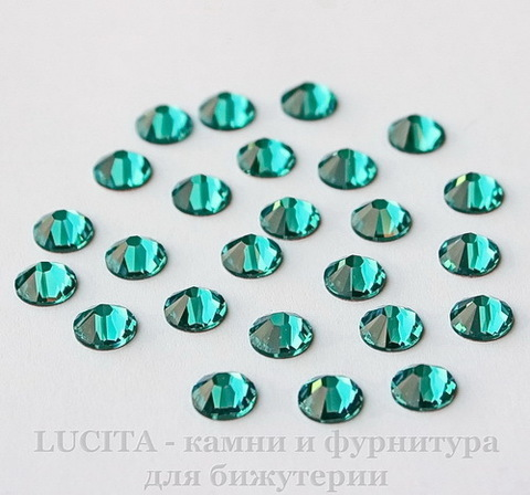 2058 Стразы Сваровски холодной фиксации Blue Zircon ss12 (3,0-3,2 мм), 10 штук (2)