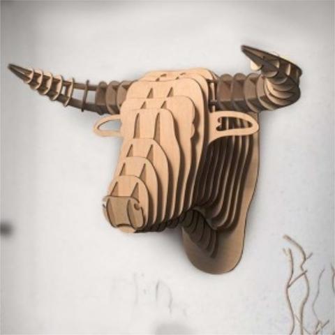 Трофей голова быка