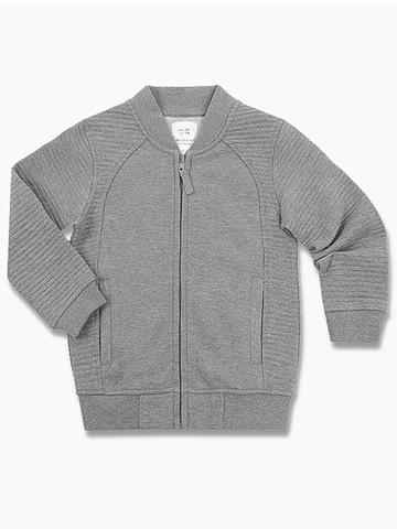 BAC004709 Пиджак для мальчиков, серый меланж