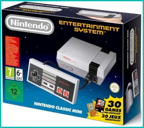 Nintendo Classic Mini: Nintendo Entertainment System (30 игр в комплекте)