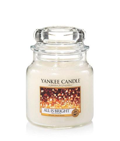Ароматическая свеча Светло и Ярко, Yankee Candle