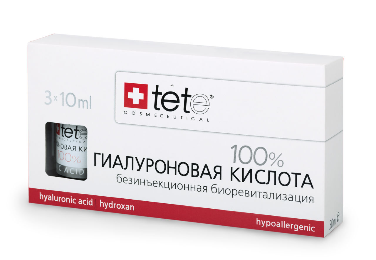 100% Гиалуроновая кислота / Pure Hyaluronic acid /Tete