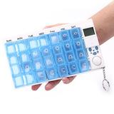 Контейнер для таблеток «НЕДЕЛЬКА» с таймером Pill reminder