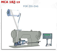 Фото: Электронное устройство для дозированной подачи резинки (тесьмы) MCA 18Z-19