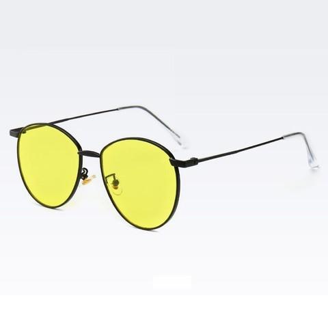 Солнцезащитные очки 28042002s Желтый - фото