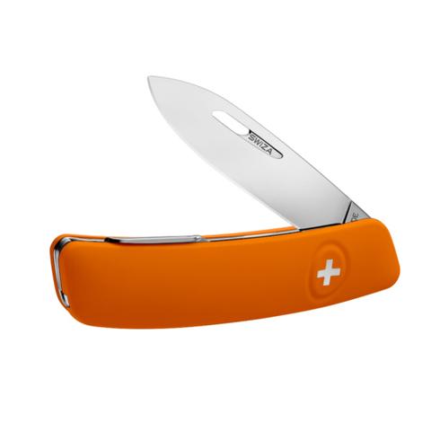 Швейцарский нож SWIZA D01 Standard, 95 мм, 6 функций, оранжевый