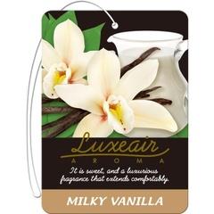 Картонный освежитель воздуха для автомобиля CARALL LUXEAIR 4115 (milky vanilla)