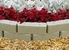 Ограждение декоративное пластиковое «Старый камень»