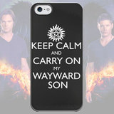 Чехол для iPhone 7+/7/6s+/6s/6+/6/5/5s/5с/4/4s SUPERNATURAL KEEP CALM