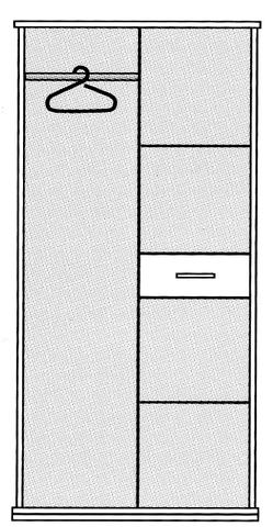 """Шкаф 2-х дверный """"Маркиз"""""""