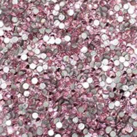 Стразы стекло, ss3 Св. Розовый 50 шт.
