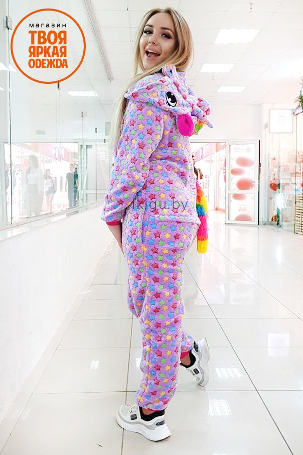Пижамы кигуруми Единорог Candy candy8.jpg
