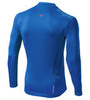 Мужская рубашка для бега  Mizuno DryLite Hex Tee (J2GA5514 23) синяя