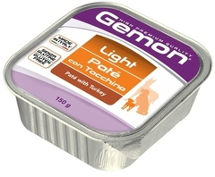 Gemon Dog Paté con Tacchino – Light