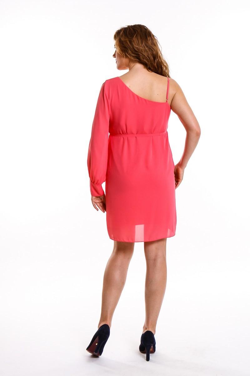 Платье 08668 розовый