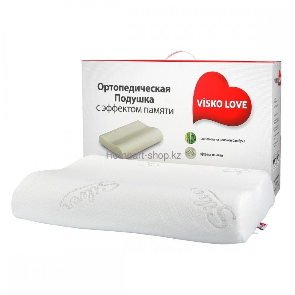 Ортопедическая подушка с эффектом памяти ViskoLove