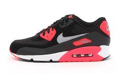 Кроссовки мужские Nike Air Max 90 Premium Red Black Grey