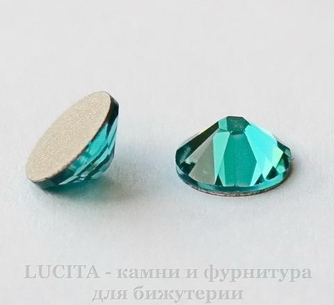 2058 Стразы Сваровски холодной фиксации Blue Zircon ss12 (3,0-3,2 мм), 10 штук (1)