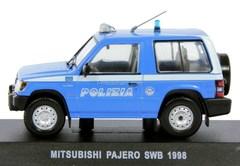 Mitsubishi Pajero SWB 1998 1:43 DeAgostini World's Police Car Special edition #4