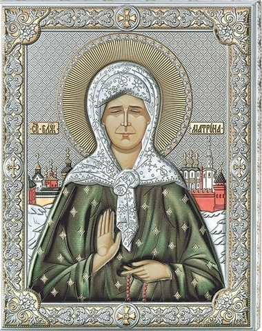 Икона Св Матрона Московская (20*26)