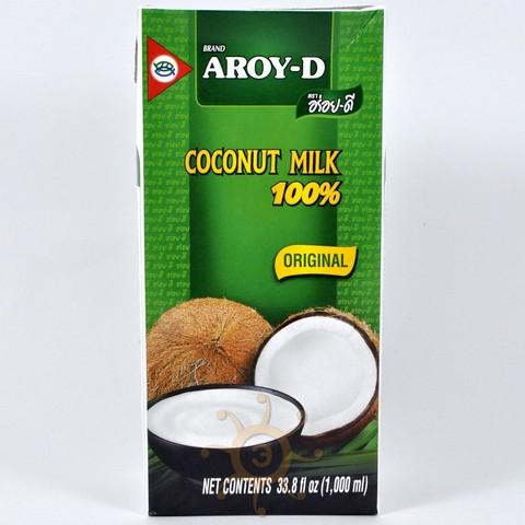Молоко кокосовое (жирность 17-19%) Aroy-D, 1л