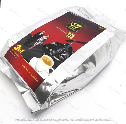 Вьетнамский растворимый кофе G7, 3 в 1, пакет 1000 гр.