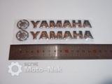 Наклейки Yamaha серебро