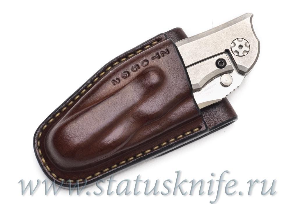 Чехол кожаный коричневый ZT 0562