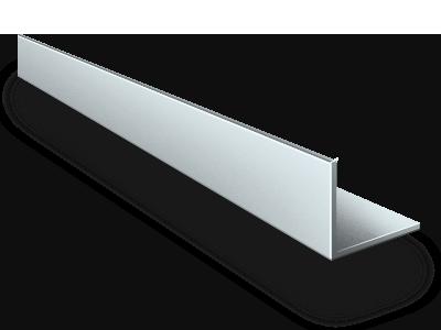 Уголок Алюминиевый уголок 40x40x1,5 (3 метра) уголок.png