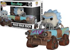 Rick and Morty - Mad Max Rick Pop! Ride Vinyl Figure
