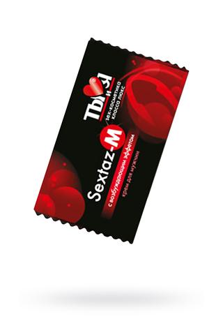 Крем возбуждающий Ты и Я  ''Sextaz-M'' для мужчин 1,5 г,20 шт в упаковке фото