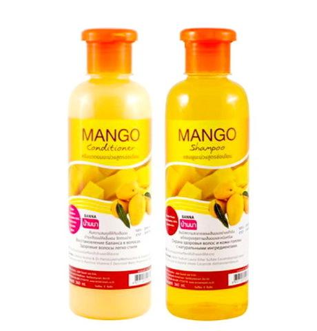 Шампунь и кондиционер для волос Манго, Banna.