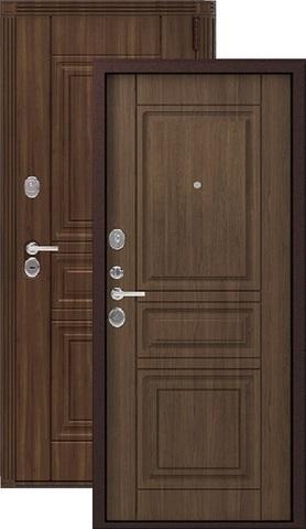 Дверь входная Легион L-4, 2 замка, 1,5 мм  металл, (медный муар+миндаль)