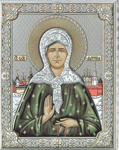 Икона Св Матрона Московская (16*20)
